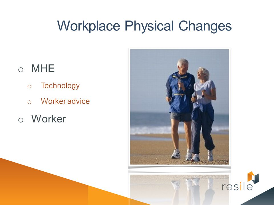 Workplace Physical Changes