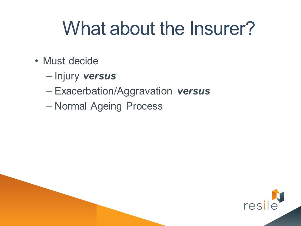 What about the Insurer Must decide Injury versus