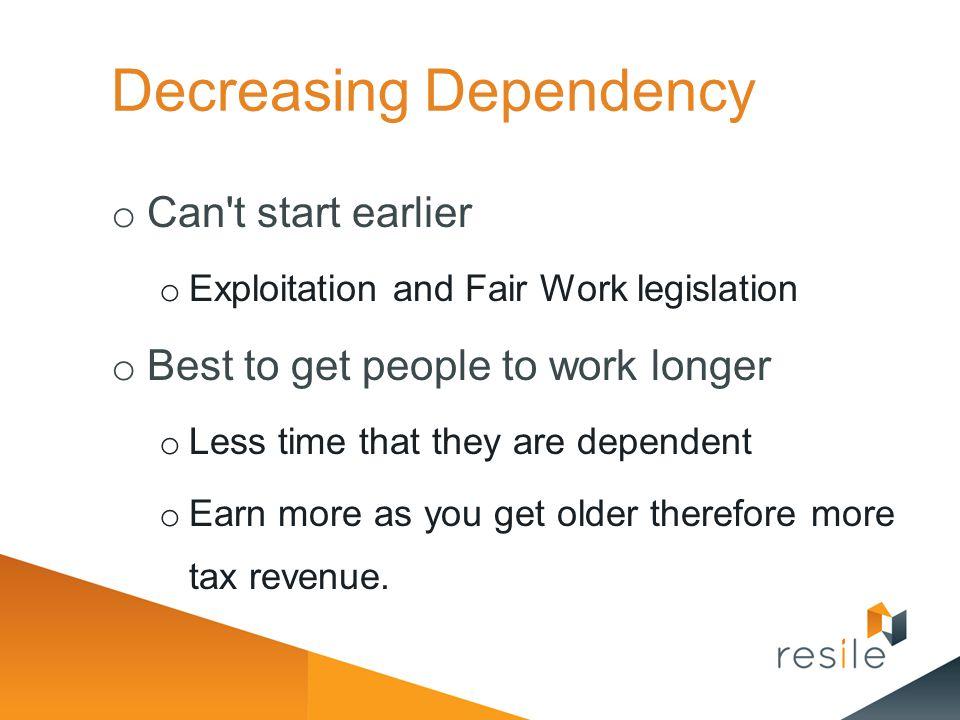 Decreasing Dependency