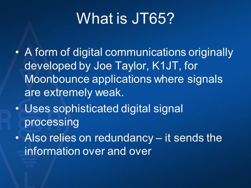 What is JT65