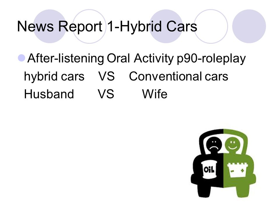News Report 1-Hybrid Cars