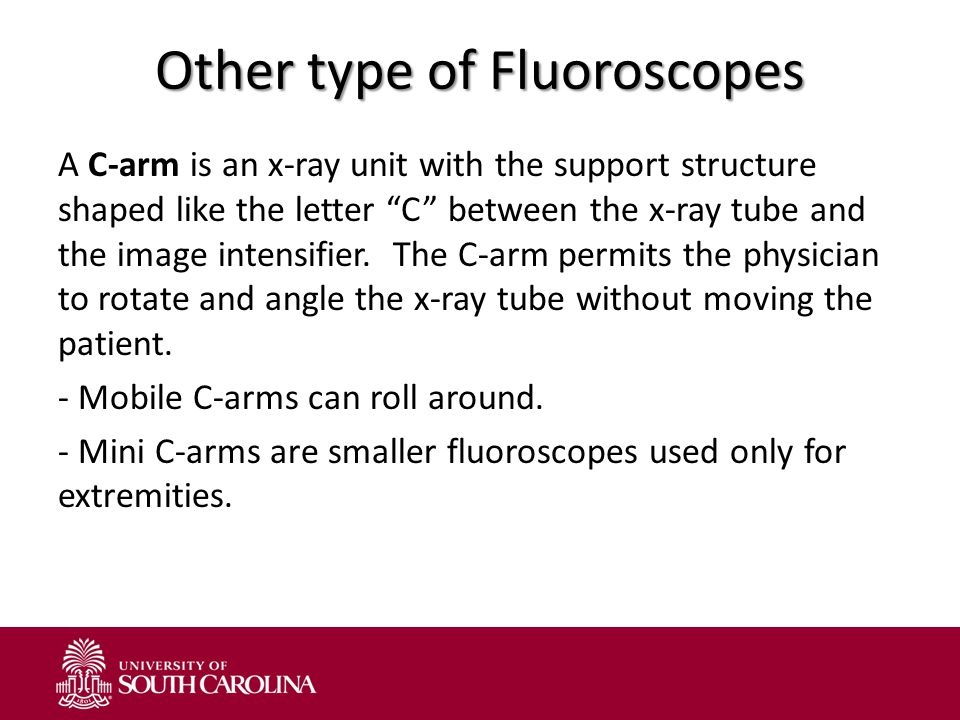 Other type of Fluoroscopes