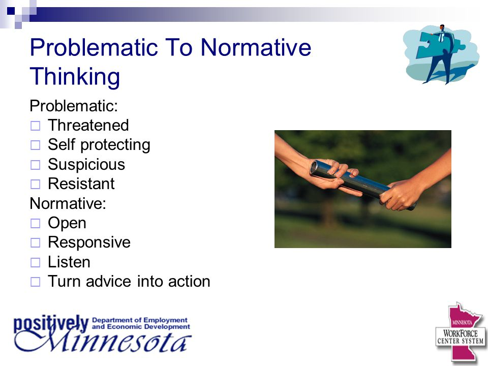 Problematic To Normative Thinking