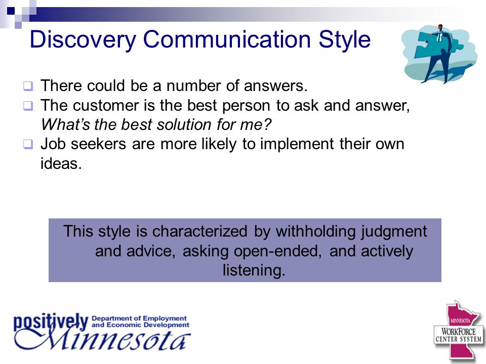 Discovery Communication Style