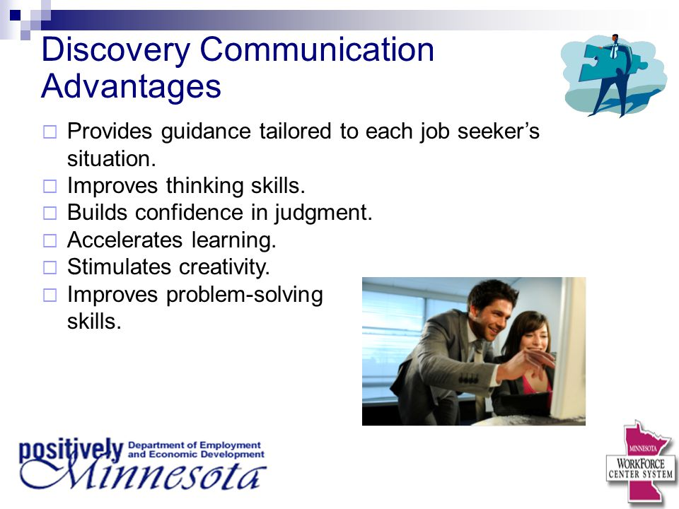 Discovery Communication Advantages