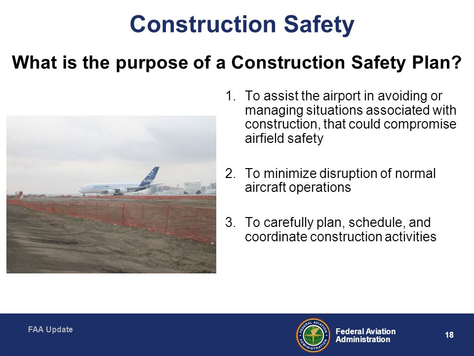 Construction Safety What is the purpose of a Construction Safety Plan