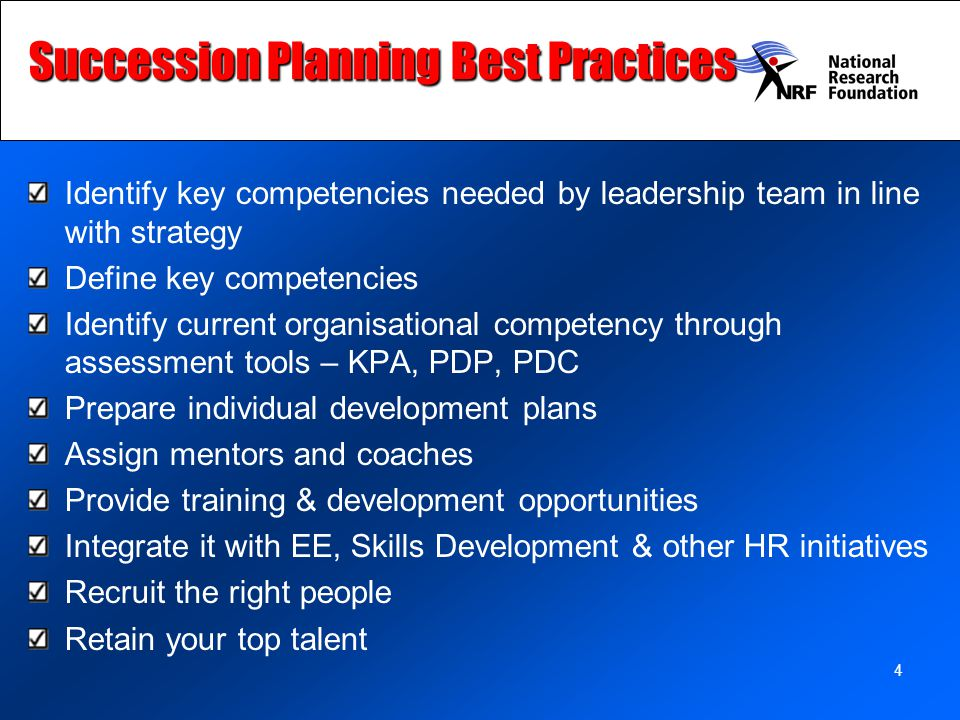 Succession Planning Best Practices