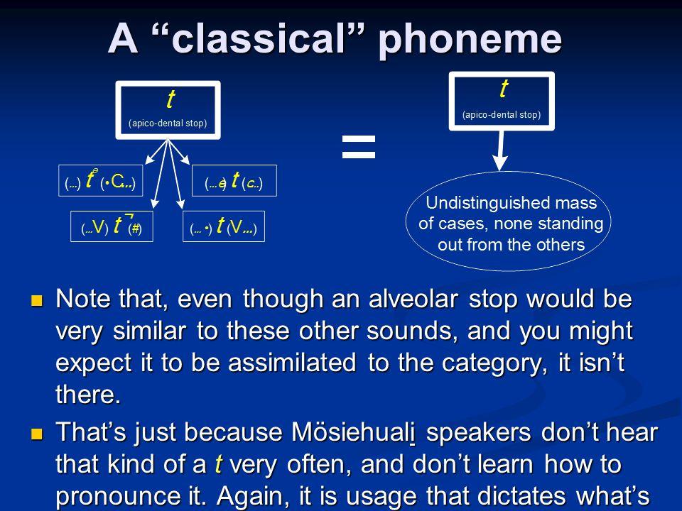 A classical phoneme