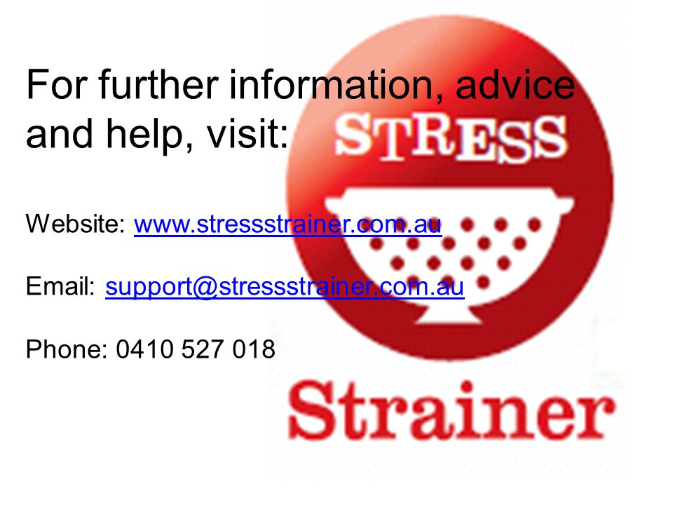 For further information, advice and help, visit: