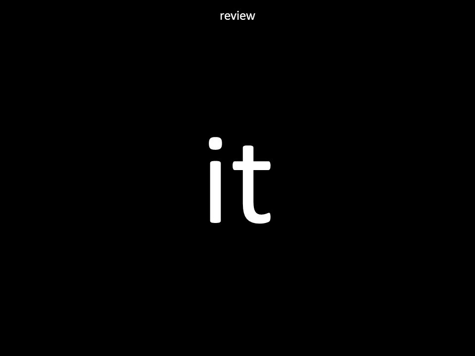 it review