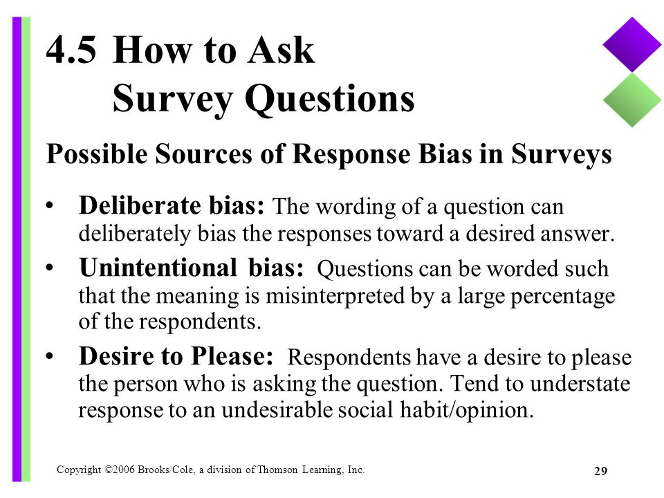 4.5 How to Ask Survey Questions