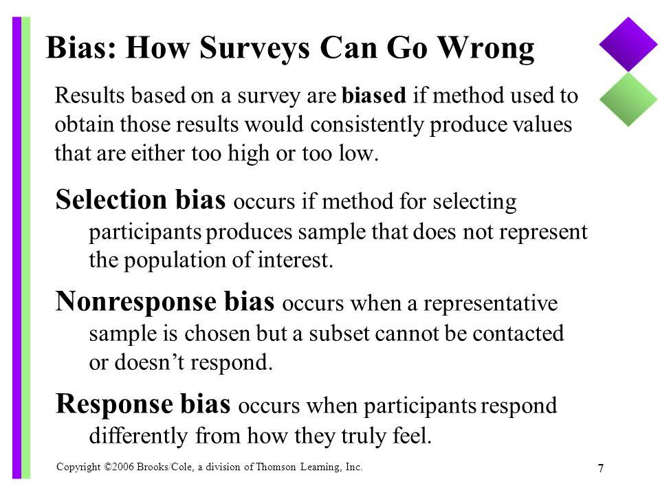 Bias: How Surveys Can Go Wrong