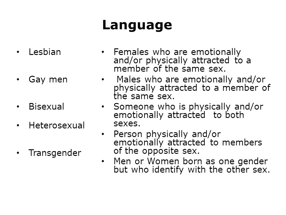 Recommend you Language sex and gender think