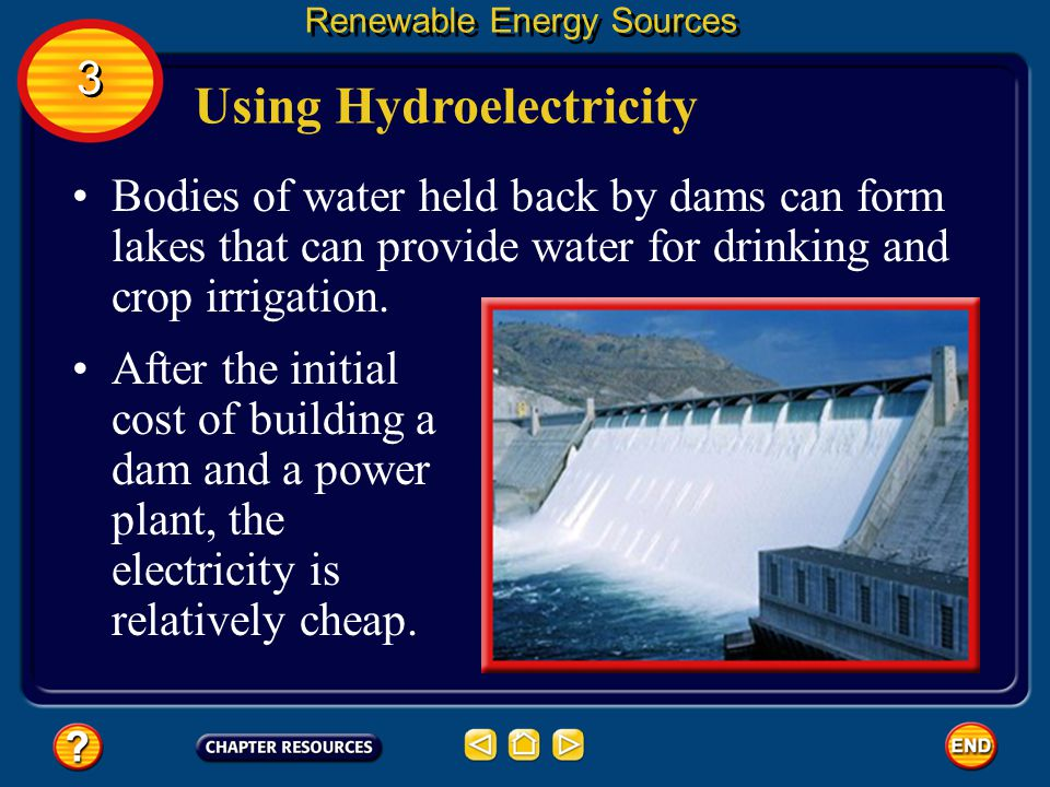 Using Hydroelectricity