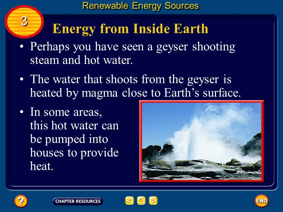 Energy from Inside Earth