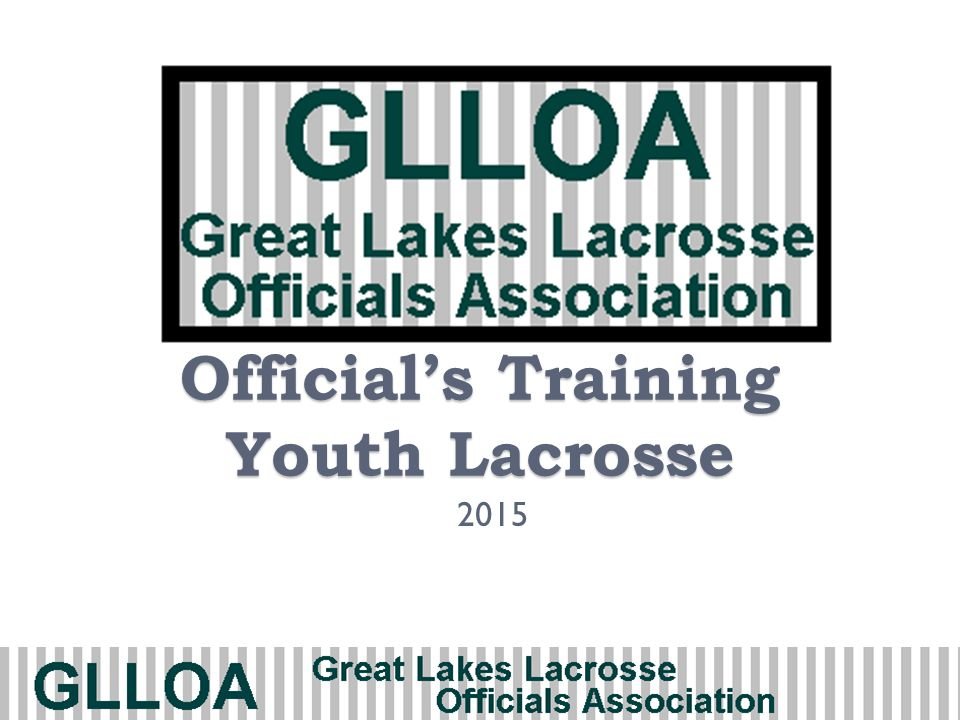 Official's Training Youth Lacrosse