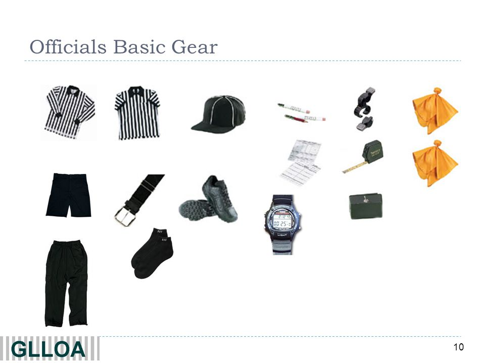 Officials Basic Gear