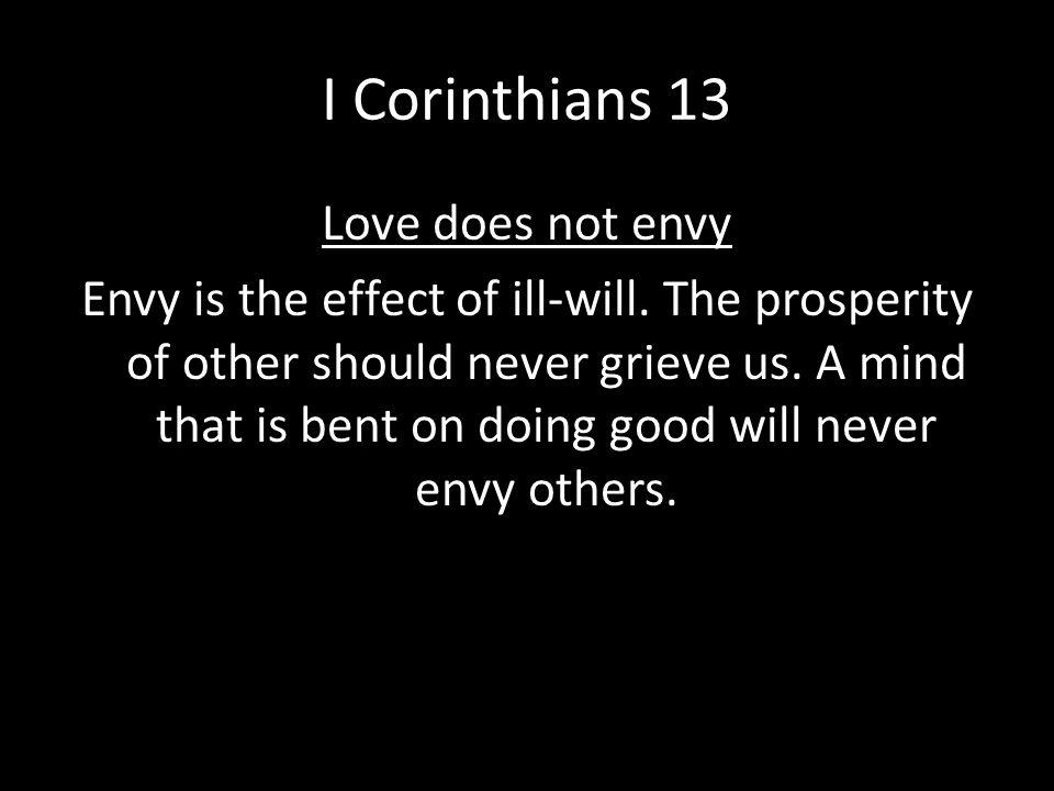 I Corinthians 13
