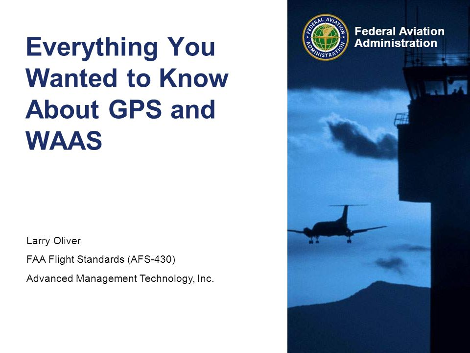 Everything You Wanted to Know About GPS and WAAS