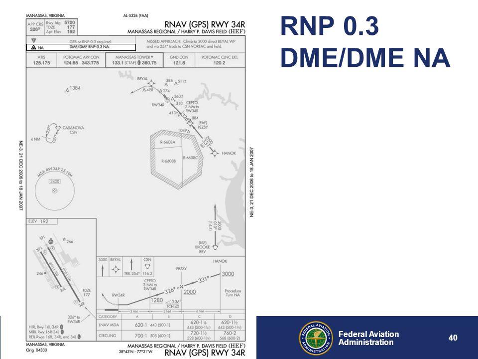 RNP 0.3 DME/DME NA