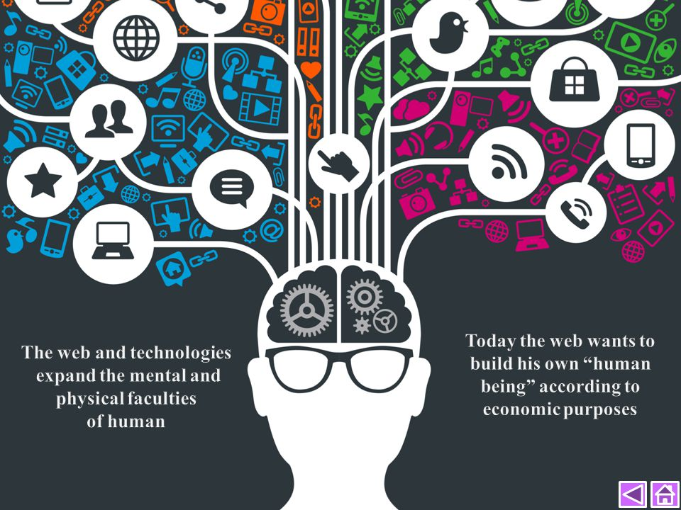 The web and technologies expand the mental and physical faculties