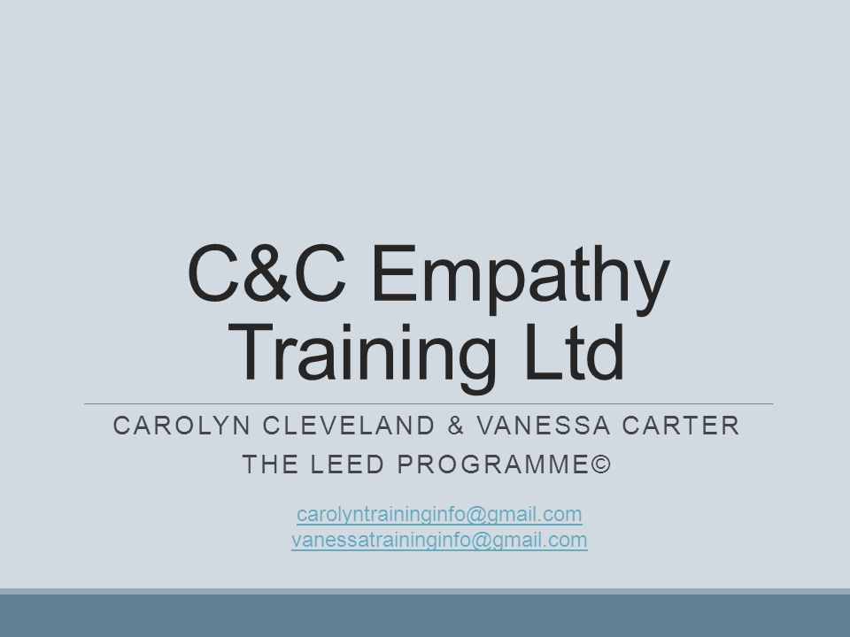 C&C Empathy Training Ltd