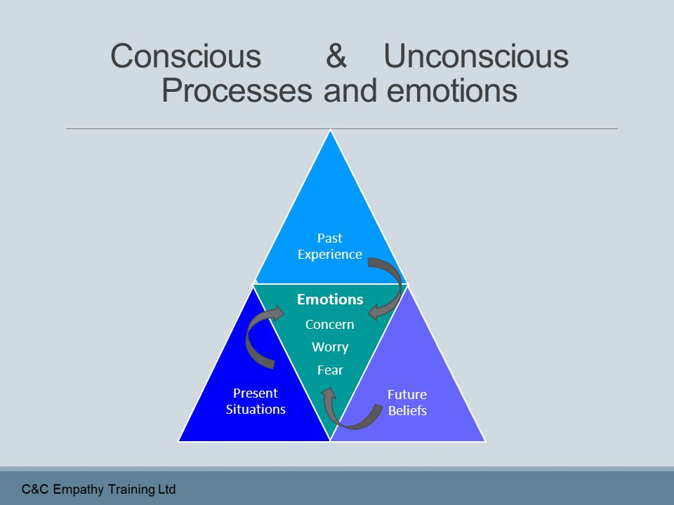 Conscious & Unconscious Processes and emotions
