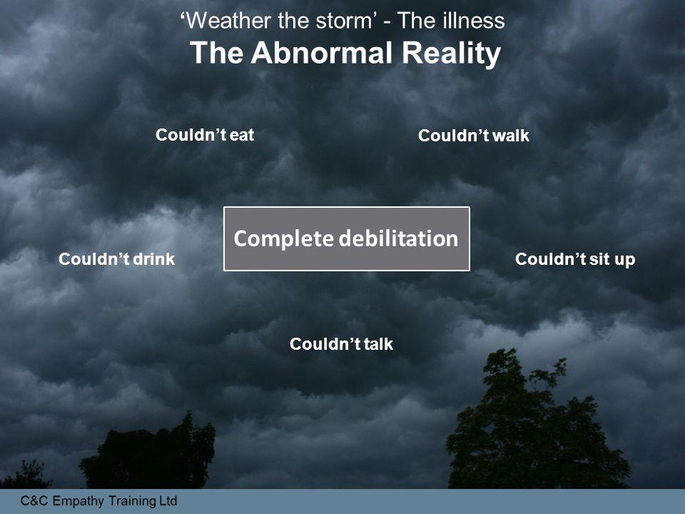 Complete debilitation