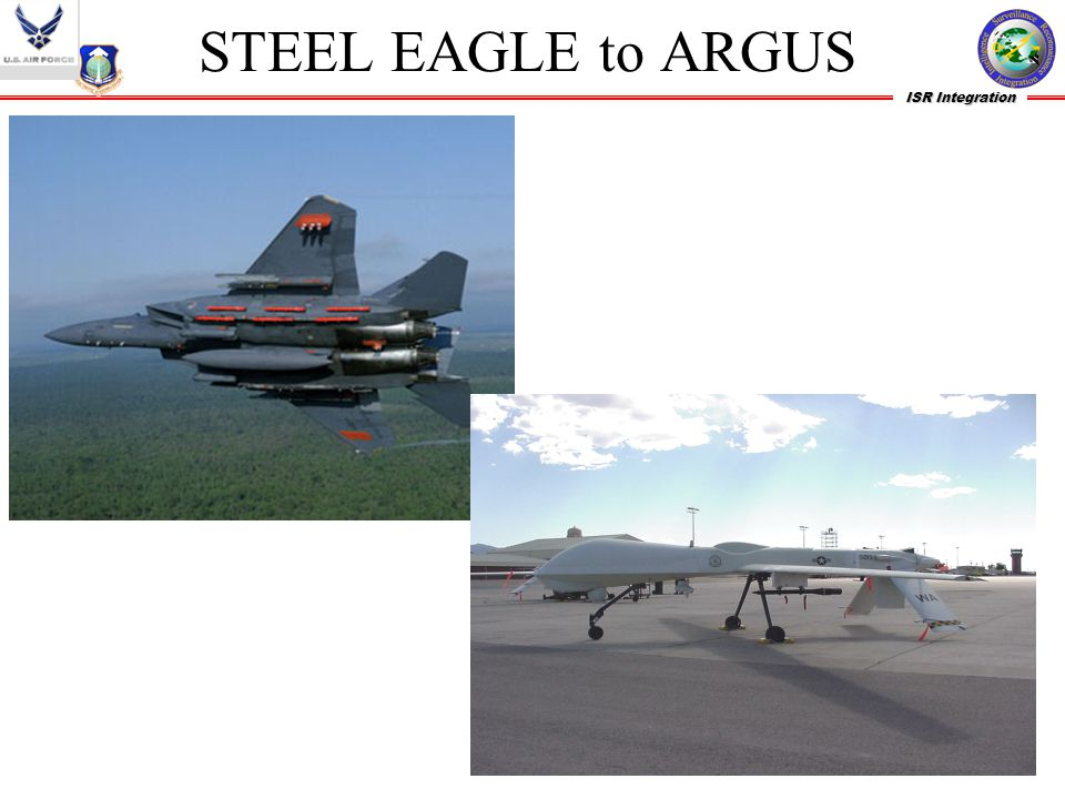 STEEL EAGLE to ARGUS STEEL EAGLE Concept demonstrator 90 lbs