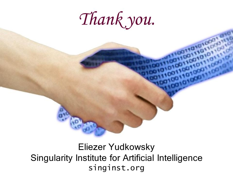 Singularity Institute for Artificial Intelligence