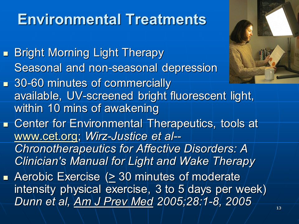Environmental Treatments