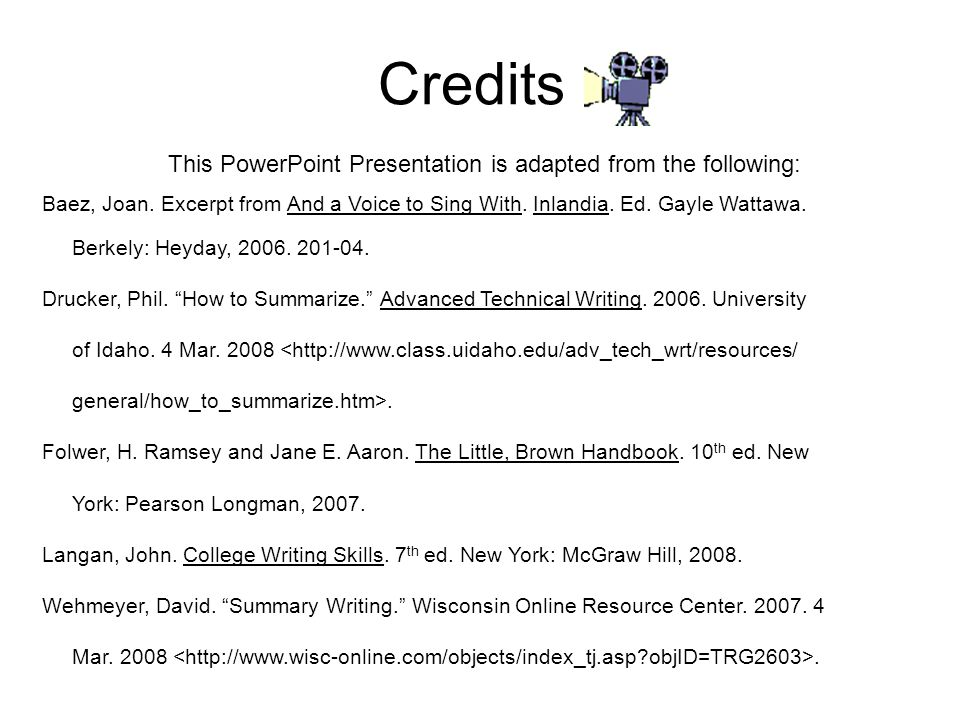 This PowerPoint Presentation is adapted from the following: