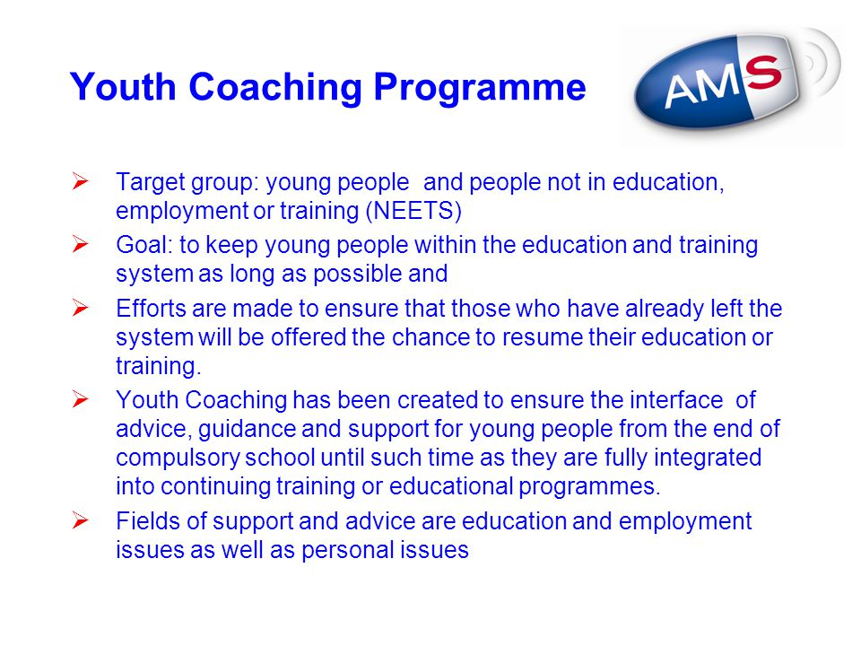 Youth Coaching Programme
