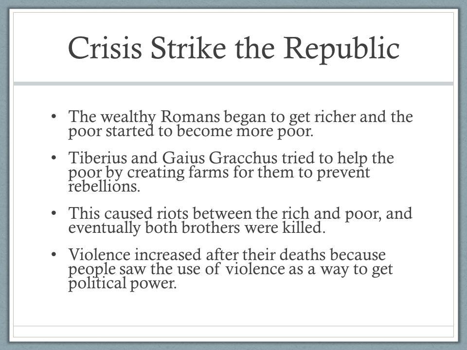 Crisis Strike the Republic