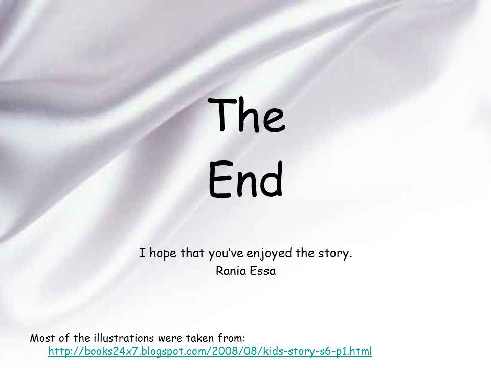I hope that you've enjoyed the story.
