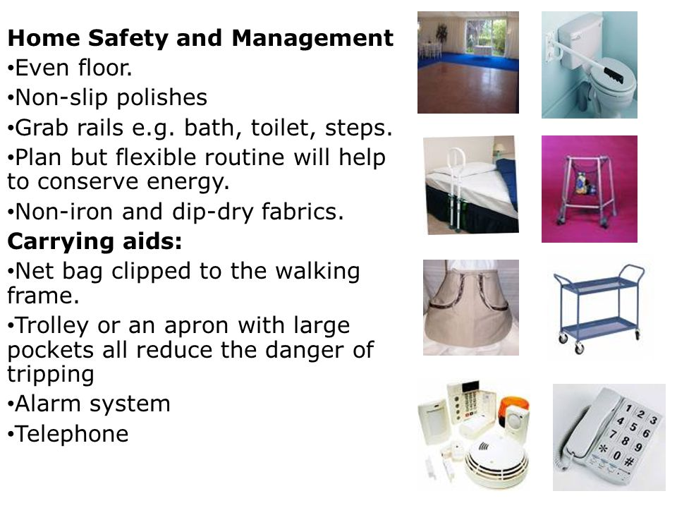 Home Safety and Management