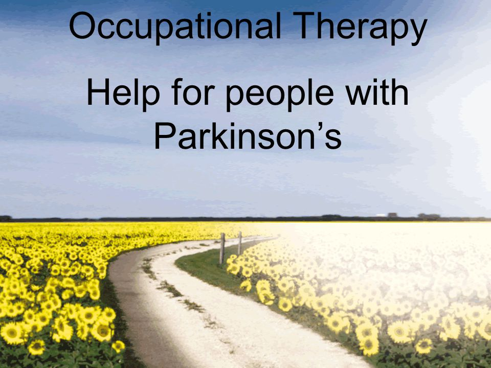 Help for people with Parkinson's