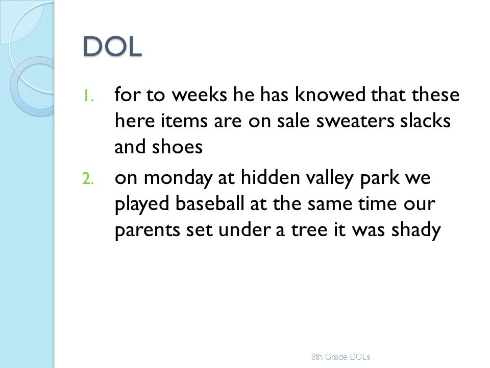 DOL for to weeks he has knowed that these here items are on sale sweaters slacks and shoes.