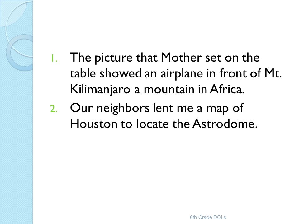 Our neighbors lent me a map of Houston to locate the Astrodome.