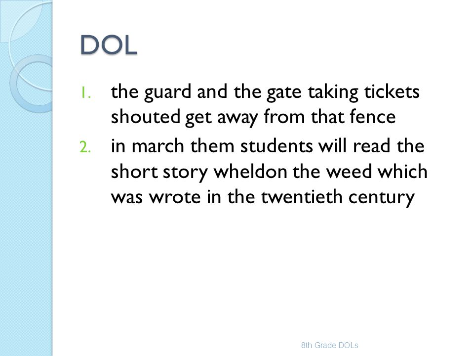 DOL the guard and the gate taking tickets shouted get away from that fence.
