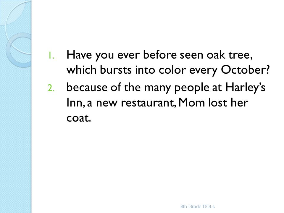 Have you ever before seen oak tree, which bursts into color every October