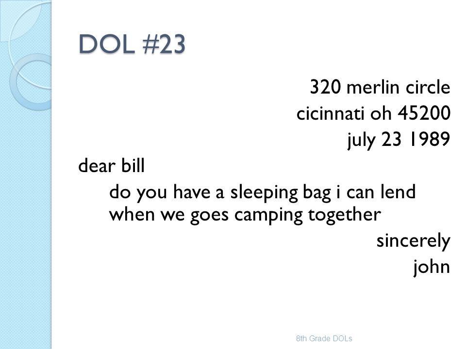 DOL #23