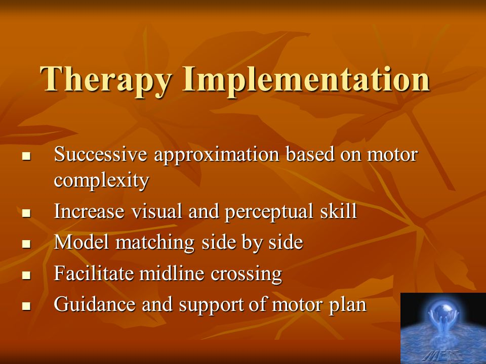 Therapy Implementation