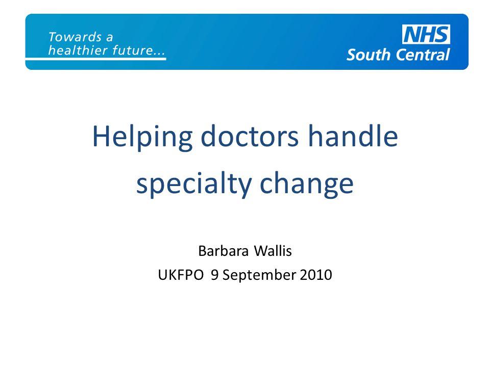 Helping doctors handle