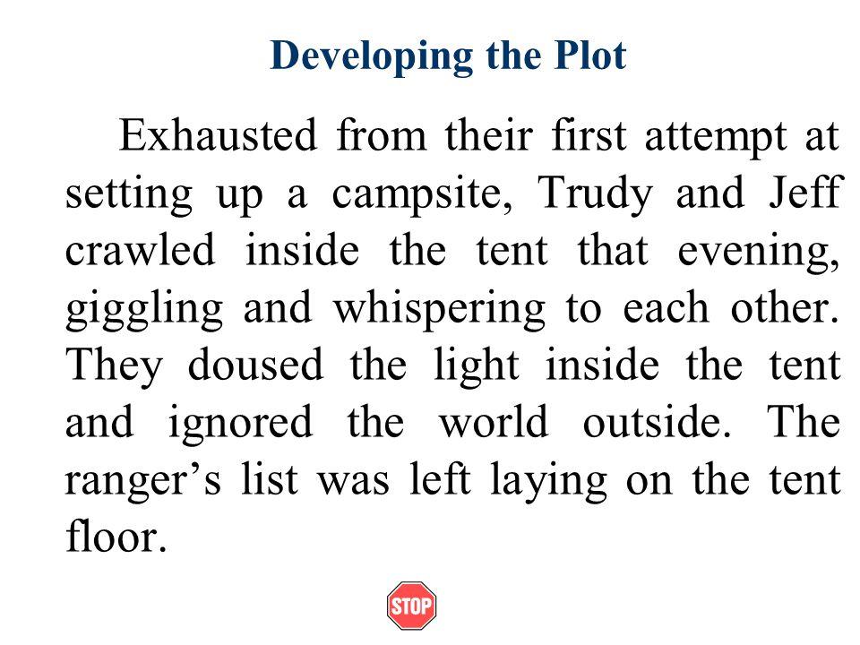 Developing the Plot