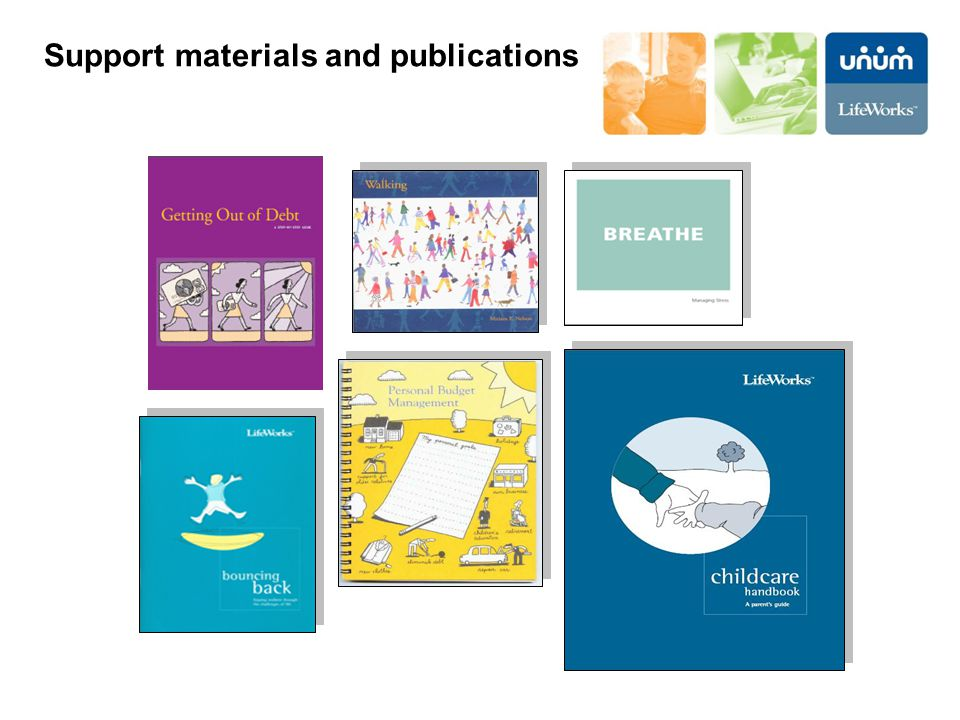 Support materials and publications