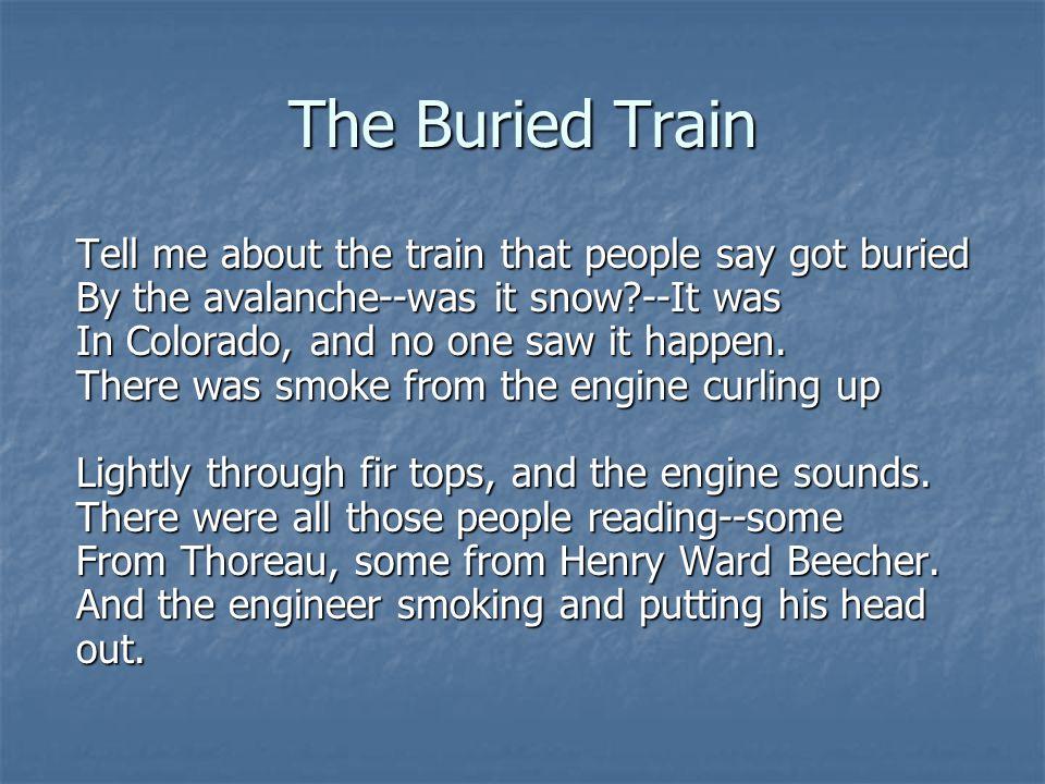 The Buried Train