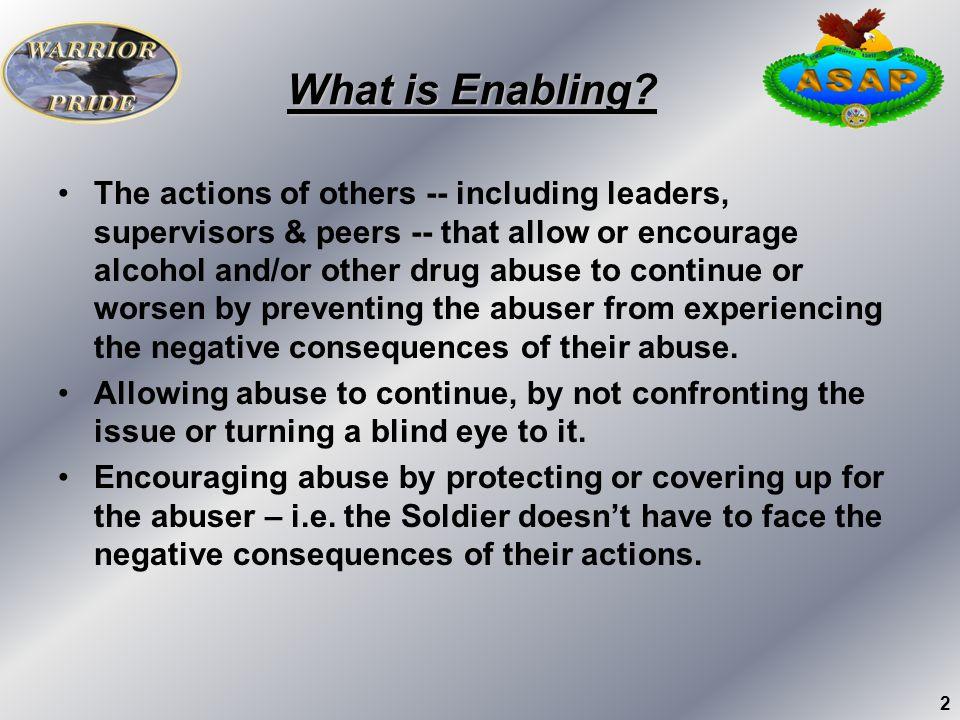 What is Enabling