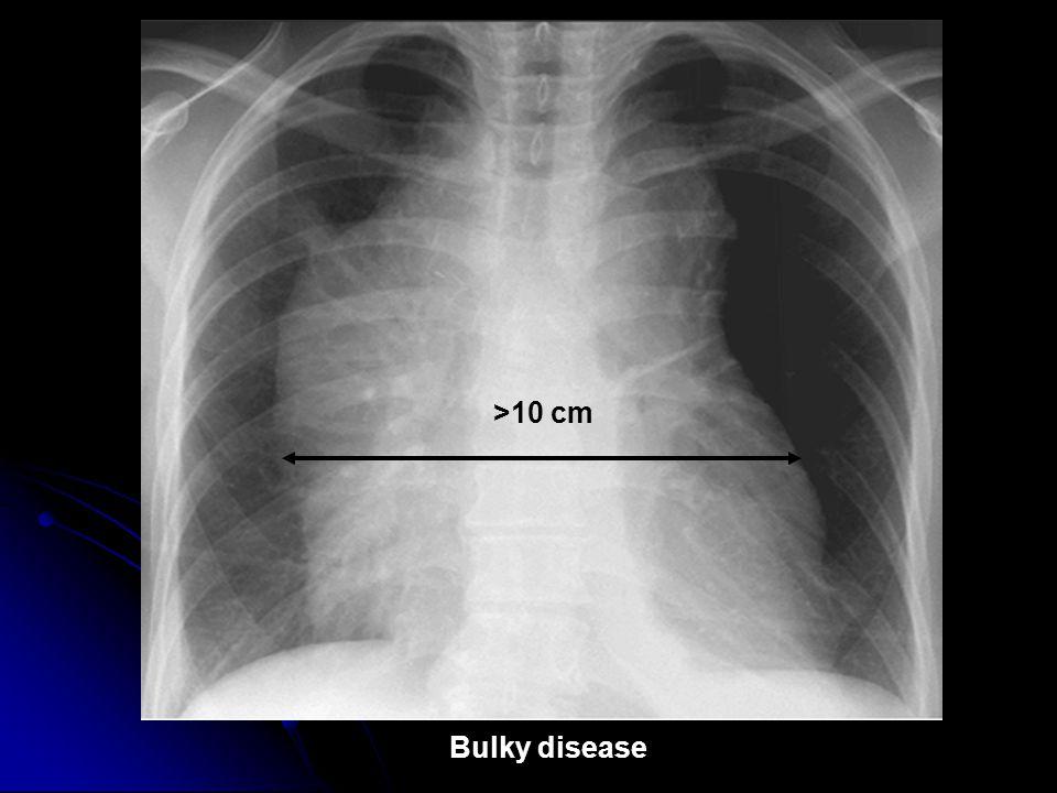 >10 cm Bulky disease