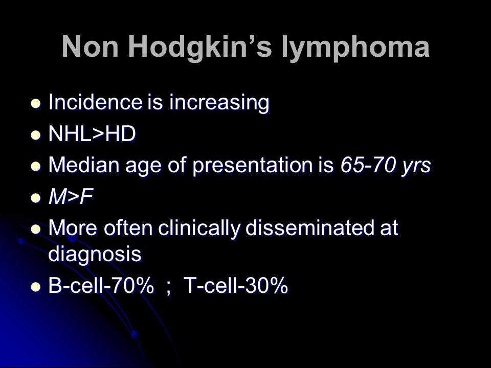Non Hodgkin's lymphoma